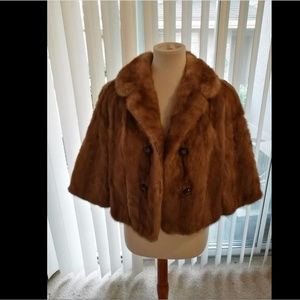 100% Genuine Mink fur coat